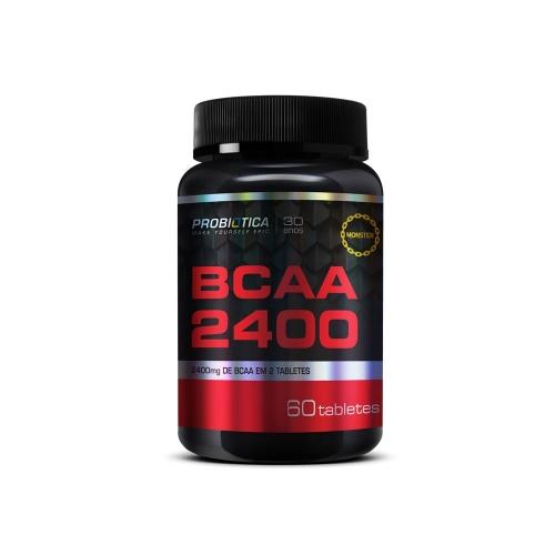 BCAA 2400mg Probiótica - 60 Tabletes