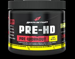Pre-HD - Body Action -  Limão - 100g