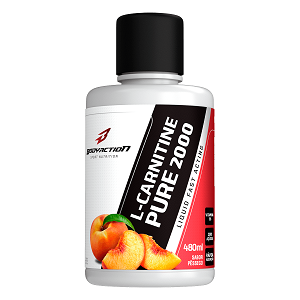 L-Carnitina Pure 2000 - Body Action - Pêssego - 480ml