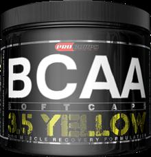 BCAA 3.5 Yellow - Procorps - 120 Cápsulas