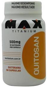 Quitosan -  Max Titanium - 120 Cápsulas