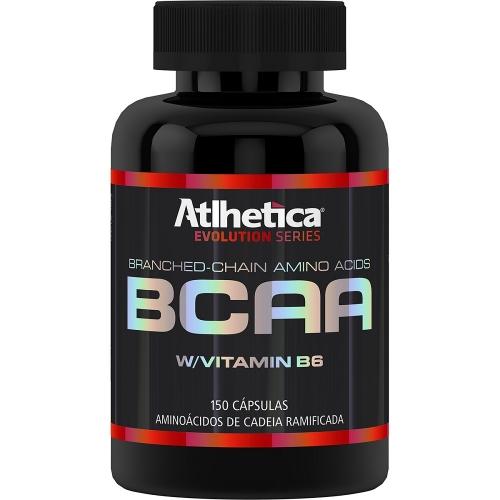 BCAA com Vitamina B6 (150 Cápsulas) - Atlhetica Evolution -