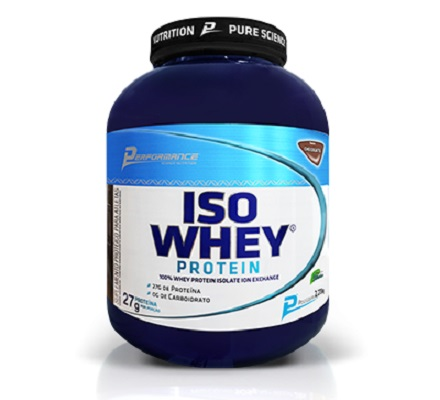 Iso Whey Protein Performance Nutrition Baunilha - 2.273g