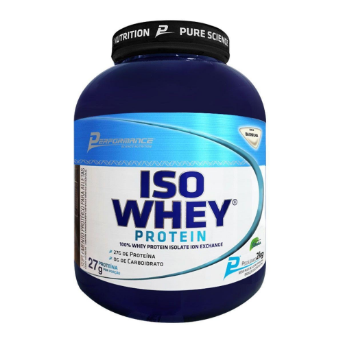 Iso Whey Protein Performance Nutrition Baunilha - 2Kg