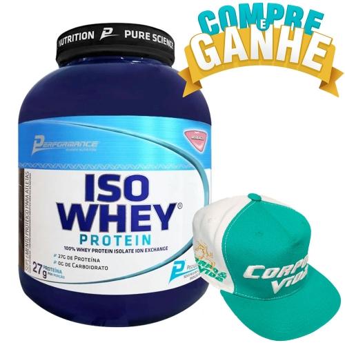 Iso Whey Protein Performance Nutrition Morango - 2Kg