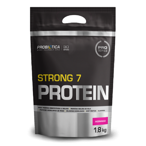 Strong 7 Protein - Probiótica - Chocolate - 1.800g