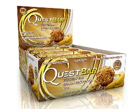 Quest Bar - Protein Bar - 1 Caixa ( 12 Unidades) - Banana
