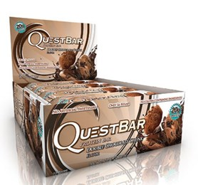 Quest Bar - Protein Bar - 1 Caixa ( 12 Unidades) - Double Chocolate Chunk 60g