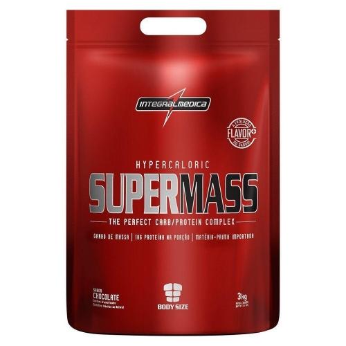 Super Mass Refil - Integralmédica - Morango - 3Kg