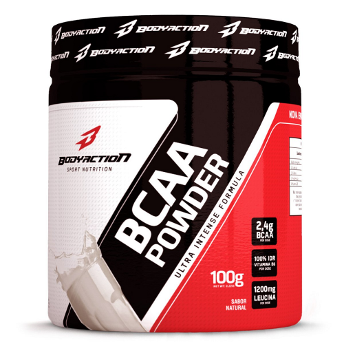 BCAA Muscle Builder Powder - Body Action - Limão - 100g