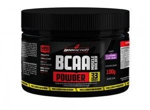 BCAA Muscle Builder Powder - Body Action - Tangerina - 100g