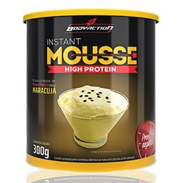 Instant Mousse - Body Action - Maracujá - 300g