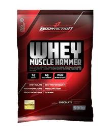 Whey Muscle Hammer - Body Action - Morango - 900g