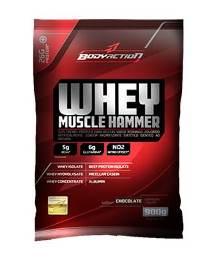 Whey Muscle Hammer - Body Action - Morango - 900g