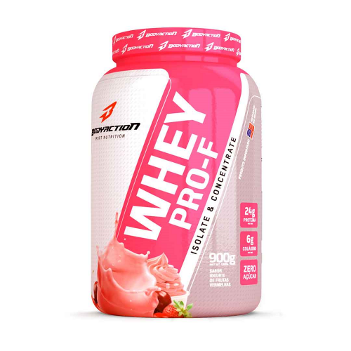 Whey Pro-F Body Action - Pêssego - 900g