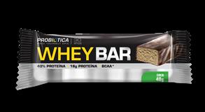 Whey Bar Coco Probiótica - 40g