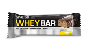 Whey Bar Banana Probiótica - 40 g