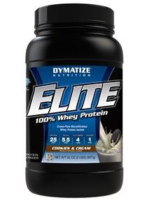 Elite Whey Protein Dymatize Cookies - 907g
