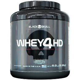 Whey 4 HD - Black Skull - Morango - 2,2 Kg