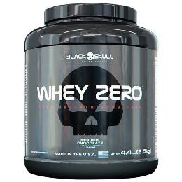 Whey Zero - Black Skull - Morango - 2Kg