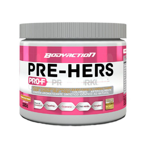 Pre Hers - Body Action - Guaraná Fruit Punch - 100g