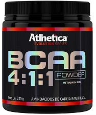 BCAA 4:1:1 Powder (Sem Sabor) - Atlhetica Evolution - 225g