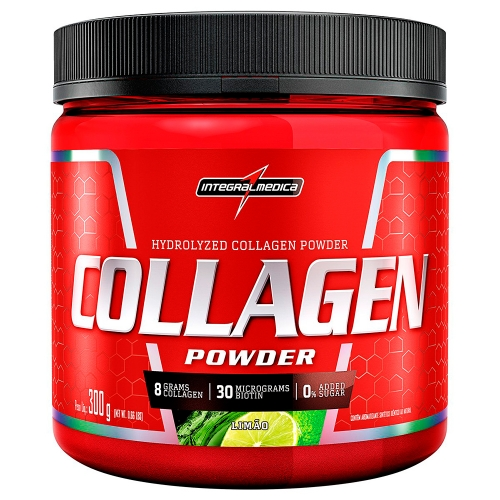 Collagen Powder - Limão - Integralmédica - 300g