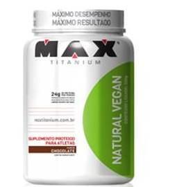 Natural Vegan - Max Titanium - Baunilha - 500g