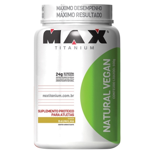 Natural Vegan - Max Titanium - Chocolate - 500g