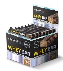 Whey Bar Sabor Cookies (Caixa  c/ 24 unidades de 40g cada) - Probiótica