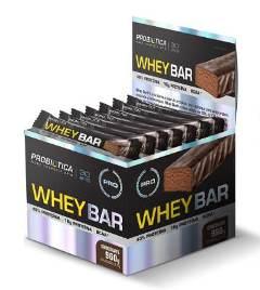 Whey Bar Probiótica - 40g (1 Caixa - 24 unidades) - Chocolate