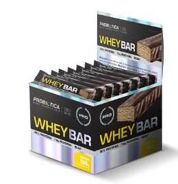 Whey Bar Sabor Banana (Caixa  c/ 24 unidades de 40g cada) - Probiótica