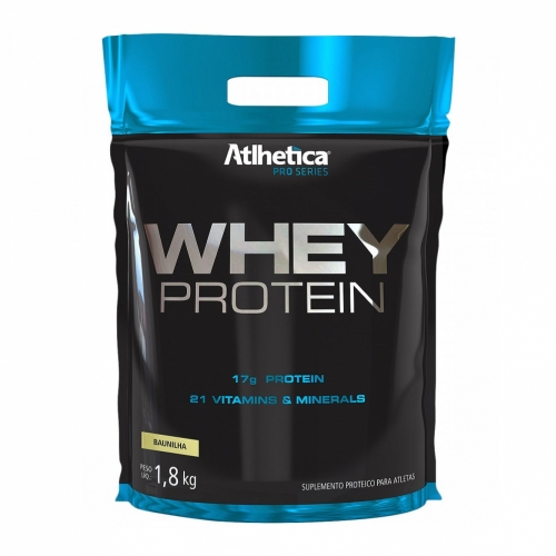 Whey Protein Pro Series 1,8 Kg - (Refil) Atlhetica Nutrition - Unissex - Chocolate