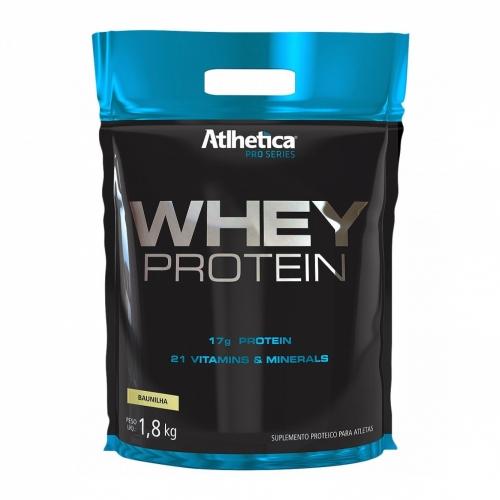 Whey Protein Pro Series 1,8 Kg - (Refil) Atlhetica Nutrition - Unissex - Morango