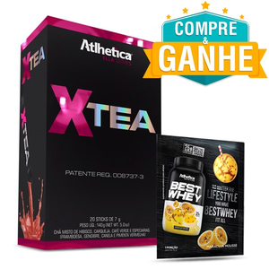 X-Tea Ella 20 Sticks - Atlhetica Nutrition  Grátis Amostra Best Whey 35g