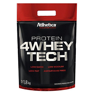 4 Whey Tech - Atlhetica Evolution - Cookies - 1,8 Kg
