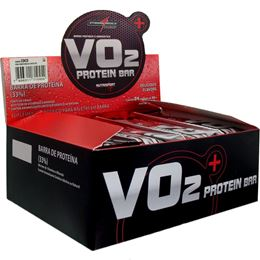 Vo2 Whey Bar Sabor Frutas Vermelhas c/ Iogurte (1 Caixa c/24 Unidades de 30g cada) - Integralmédica