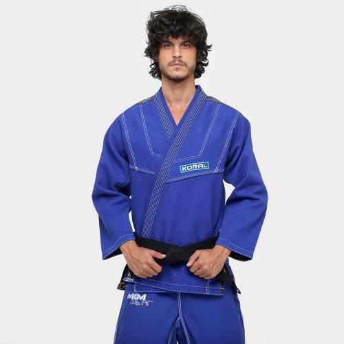 Kimono Koral MKM Slim Fit - Azul - A1