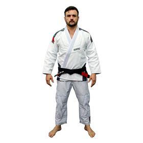 Kimono Koral MKM Slim Fit - Branco - A3