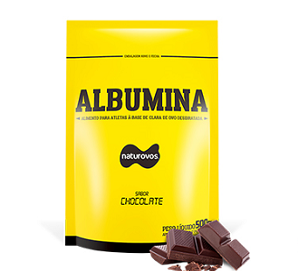 Albumina Naturovos - Chocolate - 500g
