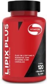 Lipix Plus - Vitafor - 120 Cápsulas