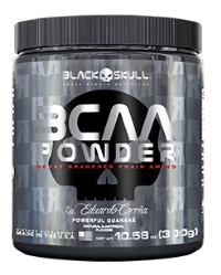 BCAA Powder - Black Skull - Limão - 300g