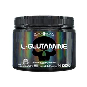 L- Glutamina - Black Skull - 100g