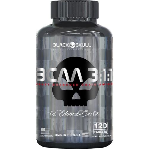 BCAA 3:1:1 (120 Tabletes) - Black Skull
