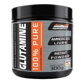 L-Glutamina 100% Pure - New Millen - 300g