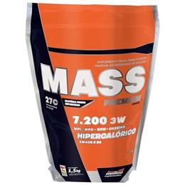 Mass 3W Premium Series - Baunilha - 1,5 Kg