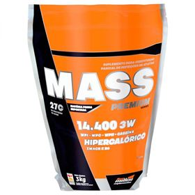 Mass 3W Premium Series - Chocolate - 3 Kg