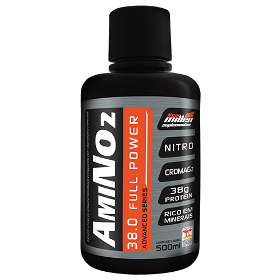 Amino NO2 Liquid - New Millen - 500 ml - Cereja Preta