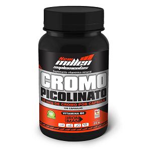 Picolinato de Cromo - New Millen - 100 Cápsulas