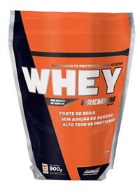 Whey Preimum (Refil) - New Millen - 900g - Morango